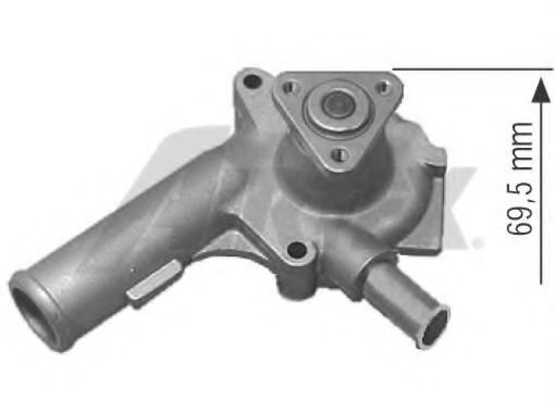 1364 Cooling System Water Pump