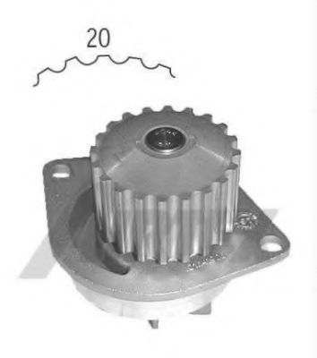 1419 Cooling System Water Pump
