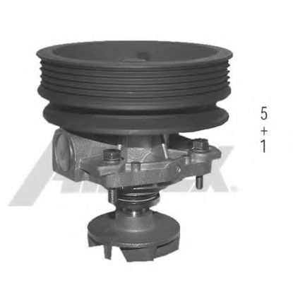 1431 Cooling System Water Pump