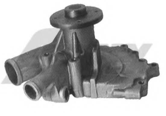 1567 Cooling System Water Pump