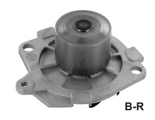 1595R Cooling System Water Pump