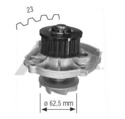 1661 Cooling System Water Pump