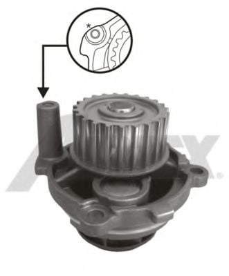 1703 Cooling System Water Pump