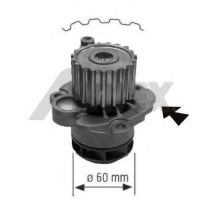 1777 Cooling System Water Pump