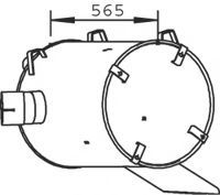 50491 Clutch Cable