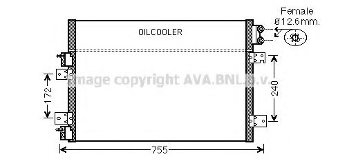CR5113 Condenser, air conditioning