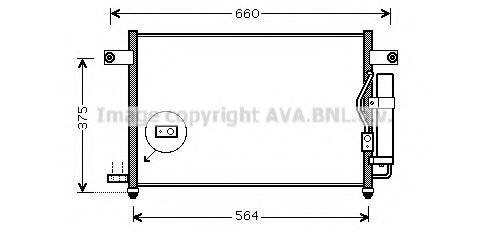 DW5049D Condenser, air conditioning