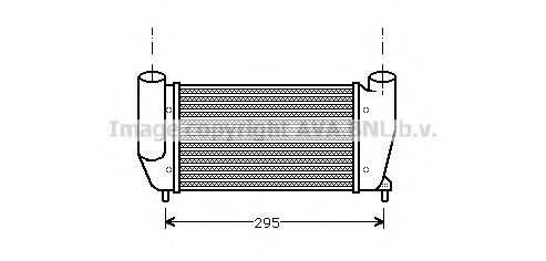 FT4111 Intercooler, charger
