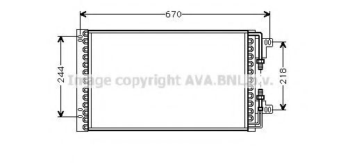 FT5157 Condenser, air conditioning