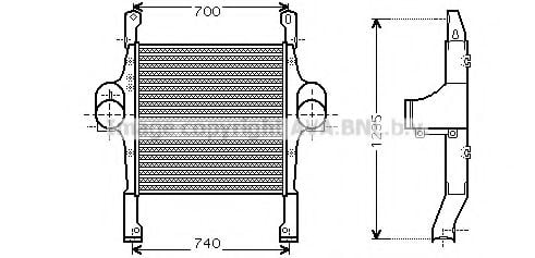IV4067 Intercooler, charger