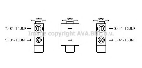 MS1113 Expansion Valve, air conditioning
