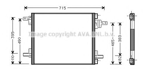 MS5345 Condenser, air conditioning