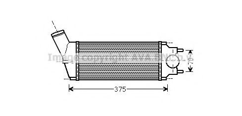 PEA4342 Intercooler, charger
