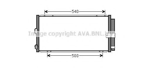 TO5579 Condenser, air conditioning