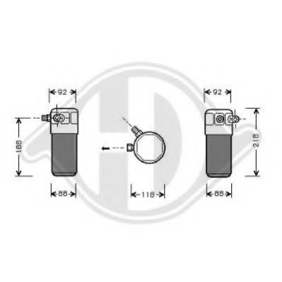 8101505 Dryer, air conditioning