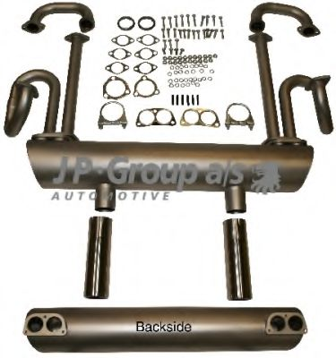 8120802600 Exhaust System Exhaust System