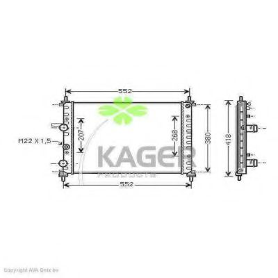31-0417 Cable, parking brake