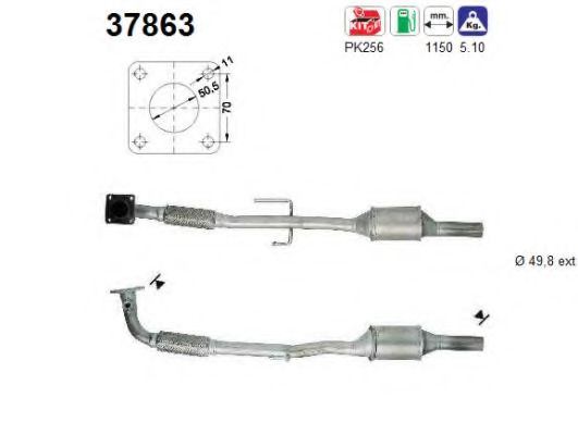 37863 Cable, manual transmission