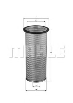 LXS 25 Secondary Air Filter