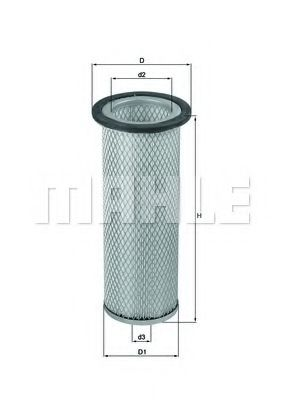 LXS 201 Secondary Air Filter