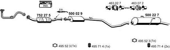 090292 Cable, manual transmission