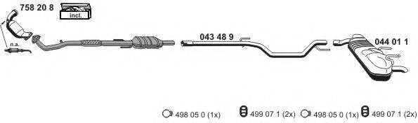 050874 Exhaust System