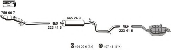 071388 Exhaust System