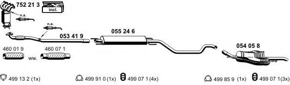 050521 Exhaust System