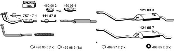 070018 Exhaust System