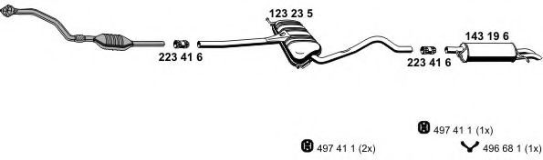 070736 Exhaust System