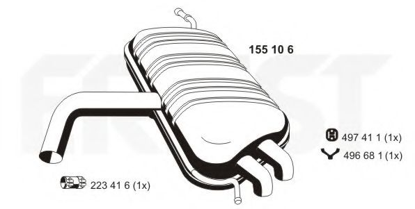 155106 Accelerator Cable