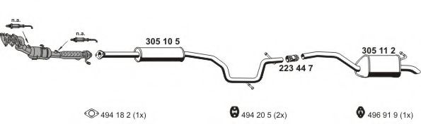 031546 Exhaust System