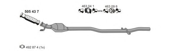 080358 Cable, manual transmission