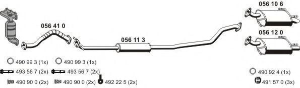 050977 Exhaust System