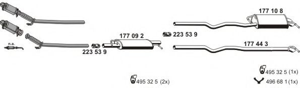 071534 Exhaust System