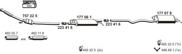 071250 Exhaust System