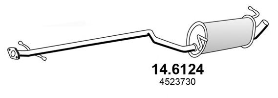 14.6124 Middle Silencer