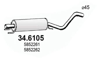 34.6105 Ignition Cable Kit