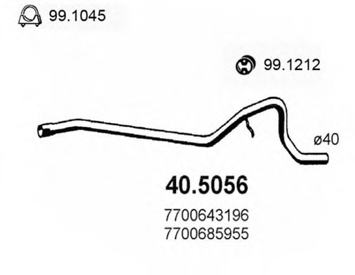 40.5056 Exhaust Pipe