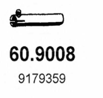 60.9008 Exhaust Pipe