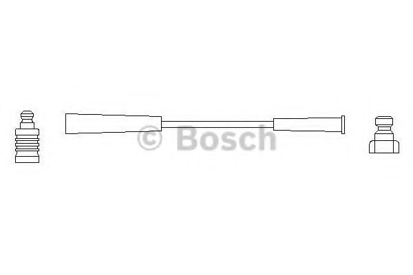 0 986 356 127 Ignition System Ignition Cable