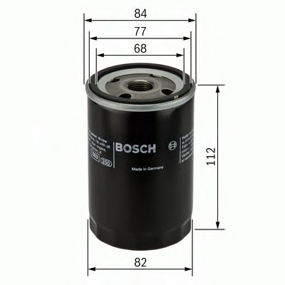 0 451 103 266 Lubrication Oil Filter