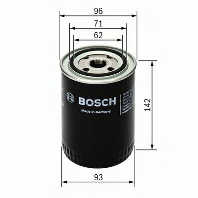 0 986 452 400 Lubrication Oil Filter