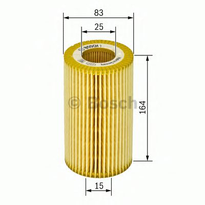1 457 429 121 Lubrication Oil Filter