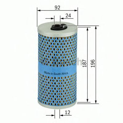1 457 429 267 Lubrication Oil Filter