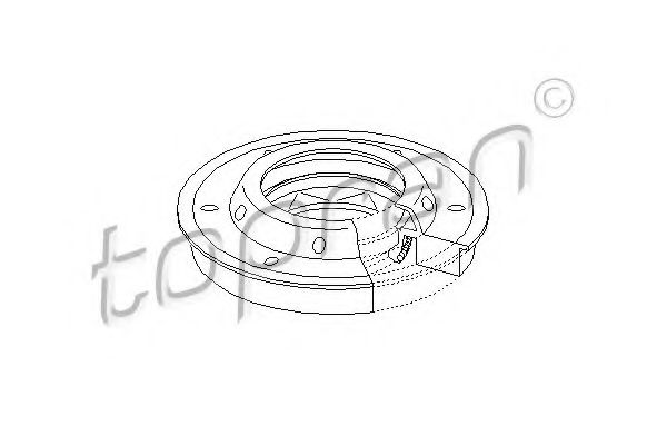 207 320 Shaft Seal, differential