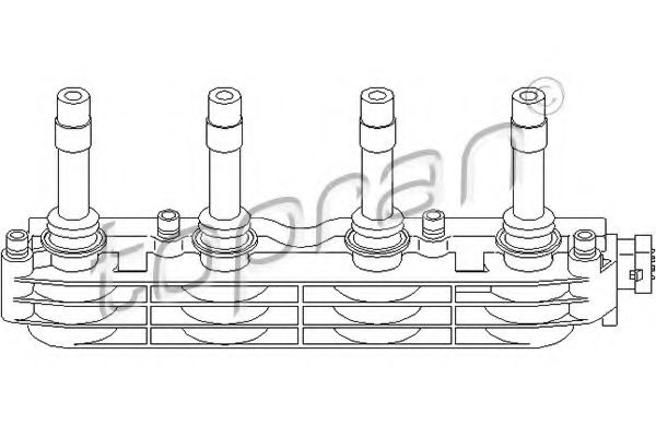 206 640 Ignition Coil