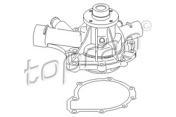 401 177 Exhaust System Mounting Kit, catalytic converter