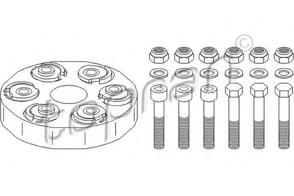 400 238 Joint, propshaft