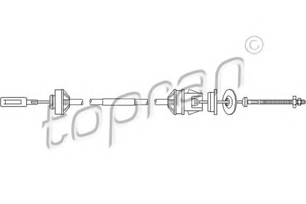 722 114 Clutch Clutch Cable